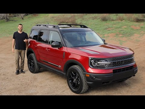 2021 Ford Bronco Sport Test Drive Video Review