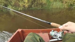 Рибалка по великій воді.Річка Вохма. Вересень 2017