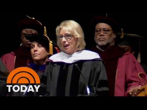 Betsy DeVos Booed During Her Address At Historically Black College | TODAY