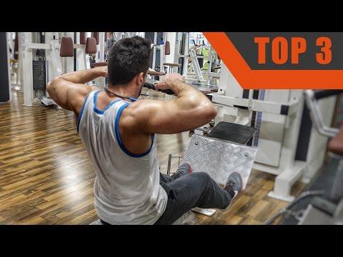 Top 3 - Hintere Schulter Übungen