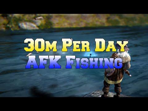 Black Desert Ps4 - 30m+Day AFK Fishing. Full Explanation And Setup!