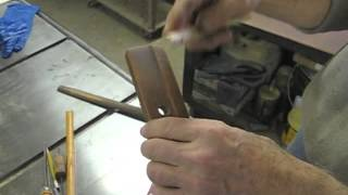Restoring A Thomas Moser Rocking Chair - Thomas Johnson Antique Furniture Restoration