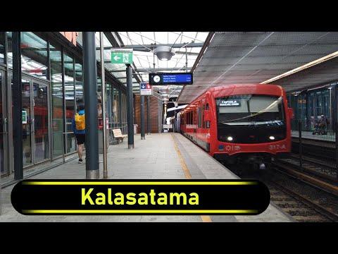 Metro Station Kalasatama - Helsinki - Walkthrough 🚶