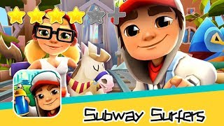 Subway Surfers - Kiloo - Barcelona Day1 Walkthrough Super Classic Game Recommend index four stars
