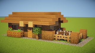 SMALL SURVIVAL HOUSE TUTORIAL Tiny & Cute YouTube