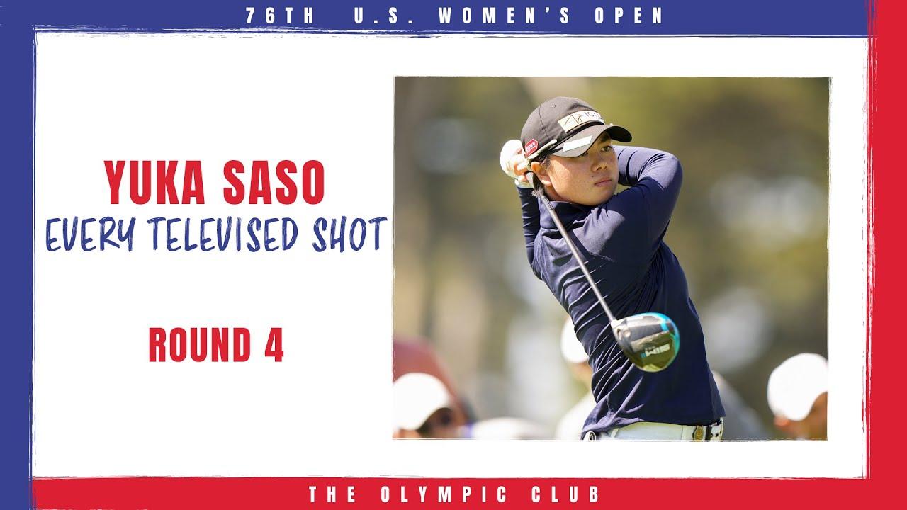 Highlights Yuka Saso S Final Round Every Televised Shot 2021 U S Women S Open Youtube