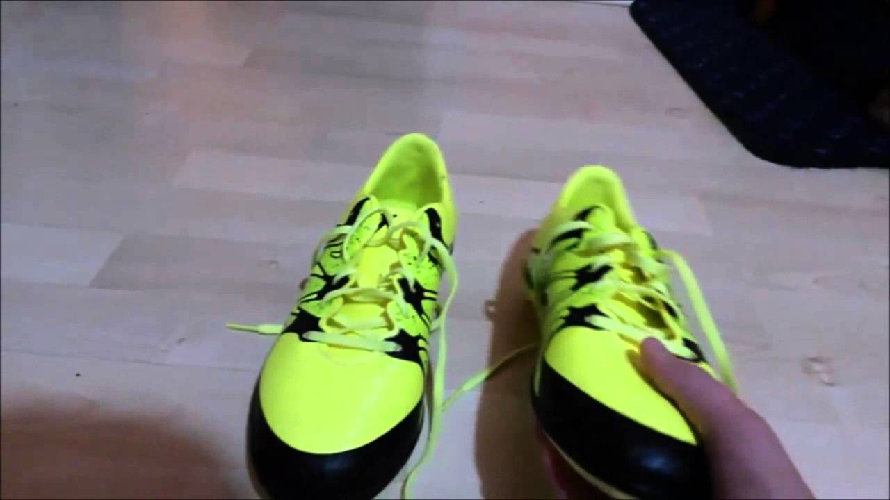 a23a46ff0a6 Adidas X 15.3 Indoor Unboxing - YouTube