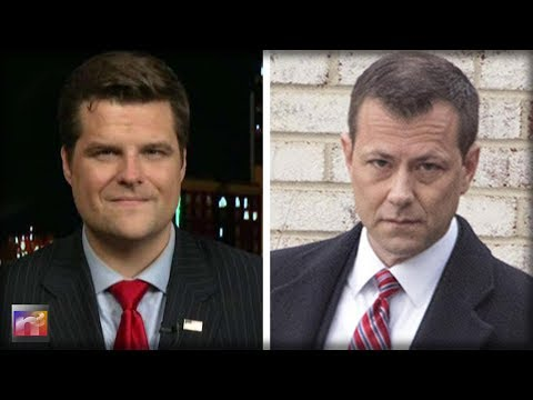 Rep Matt Gaetz ABSOLUTELY DESTROYS Dirty FBI Agent Peter Strzok PROVING He's CORRUPT and BIASED