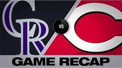 Murphy's 6 RBIs lead Rockies over Reds | Rockies-Reds Game Highlights 7/26/19