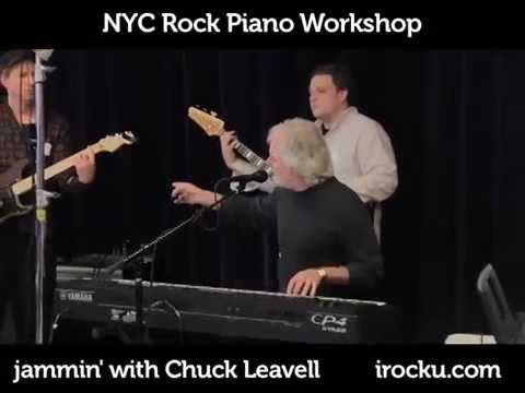 Chuck Leavell Jamming with NYC Teachers