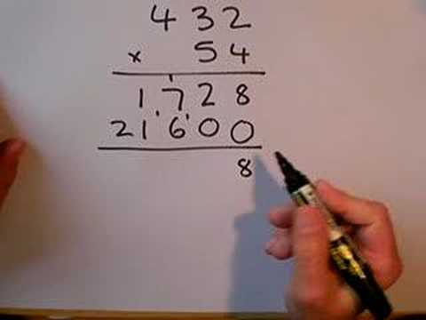 SLEP Long Multiplication - YouTube