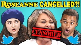 COLLEGE KIDS REACT TO ROSEANNE CANCELED?! (Twitter Controversy)