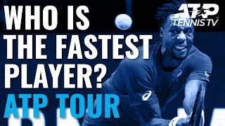 Who is the fastest tennis player on the ATP Tour? The players reveal all!