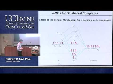 Chemistry 107. Inorganic Chemistry. Lecture 11