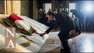 Aziz Sancar Donates the Nobel to Atatürk\'s Mausoleum | Aziz Sancar Nobel\'i Anıtkabir\'e Bağışladı