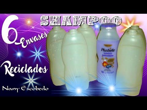 6 Envases De Shampoo Reciclados Youtube
