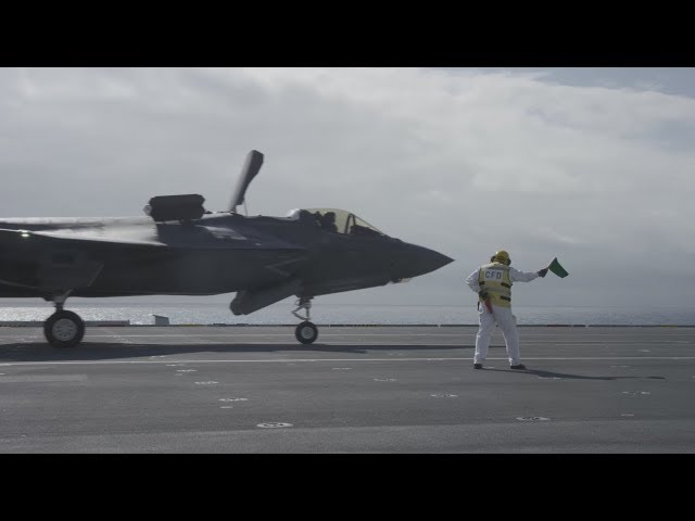 Meet the Team Supporting the HMS Queen Elizabeth F-35B Trials - Part 2