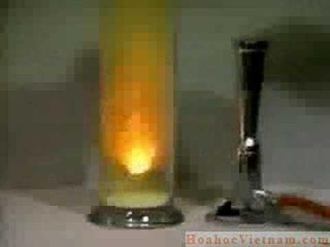 Phản ứng của kim loại Na với Clo