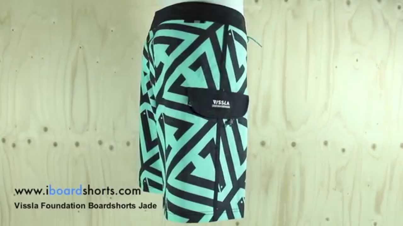 2ad661ba54 Vissla Foundation Boardshorts Jade available at iboardshorts.com ...