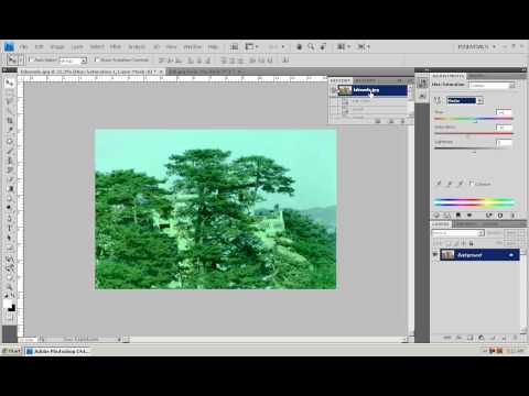 Photoshop CS4 - Phan 1 - Bai 20 - Ung dung Lab Color