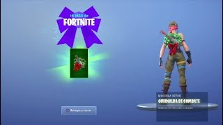 GIFT 5th LOCATION OF THE RINGS -14 DAYS OF FORTNITE- FREE MOCHILA