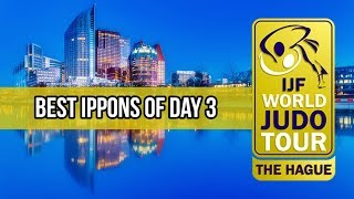 Best ippons in day 3 of Judo Grand Prix The Hague 2018