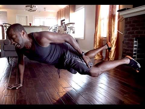 Amazing One Arm No Legs Pushup!