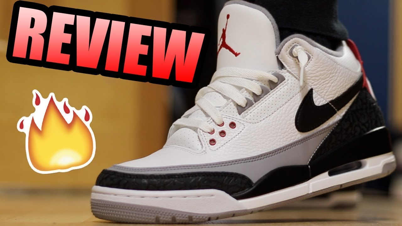 aa7d7cb6a1051f Jordan 3 TINKER HATFIELD Review ! Jordan 3 Tinkers On Feet ! - YouTube