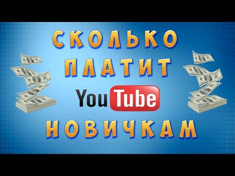 видео: Сколько платит Ютюб начинающим  за просмотры и как забрать деньги 2017