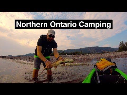 Camping Adventures Northern Ontario, Canada 4K HD