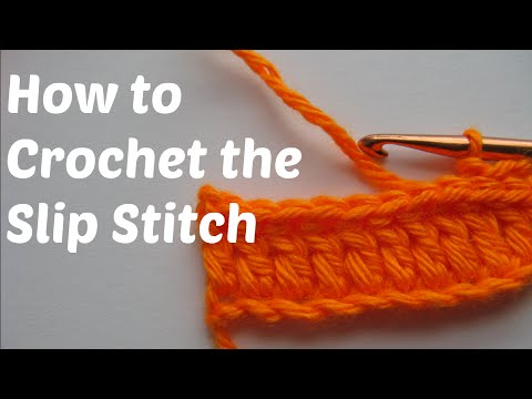 How To Crochet - The Slip Stitch (SL ST or SS) in Crochet