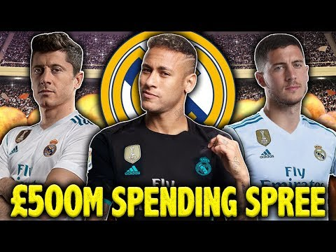 Should Real Madrid Spend €500M On Lewandowski, Neymar & Hazard?! | #SundayVibes
