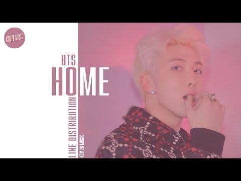 BTS - HOME ~ Line Distribution