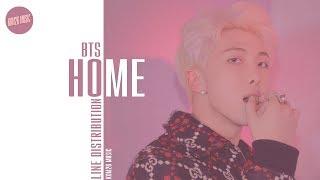 Gambar cover BTS - HOME ~ Line Distribution