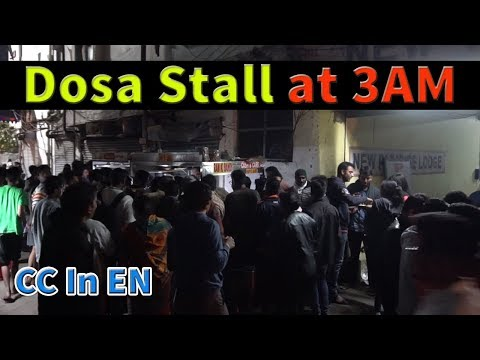 Breakfast in Hyderabad Episode 2 | Mid night Dosa at Ram ki Bandi