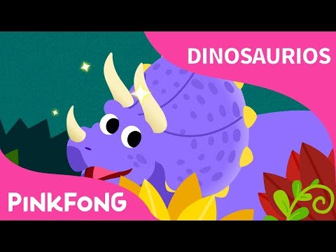 Triceratops | Dinosaurios | PINKFONG Canciones Infantiles
