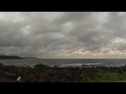 Lihue Sunset Time Lapse- Ahukini Beach