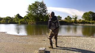 揖斐川の野鯉釣り-神戸大橋下流