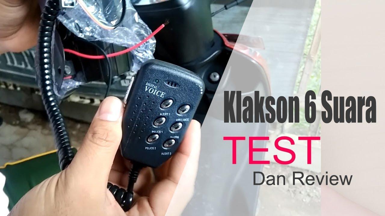 TEST & REVIEW : Klakson Toa 6 Suara Bulat Untuk Segala Kendaraan