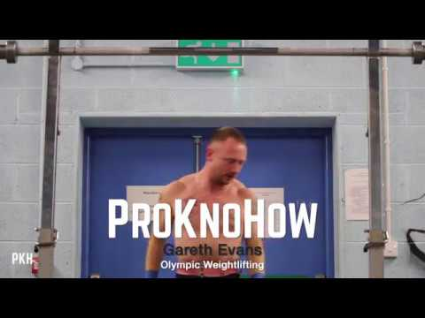 ProKnoHow | Gareth Evans | Olympic Weightlifting | Get Those Kilos | Trailer