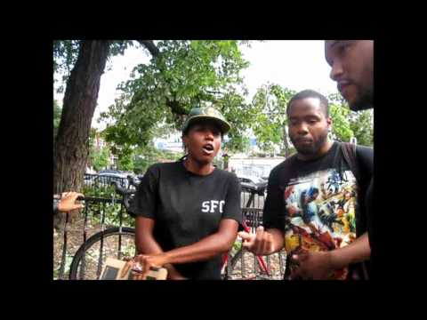 MUSIC in ATLANTA meets Soul Food Cypher on the streets of Atlanta
