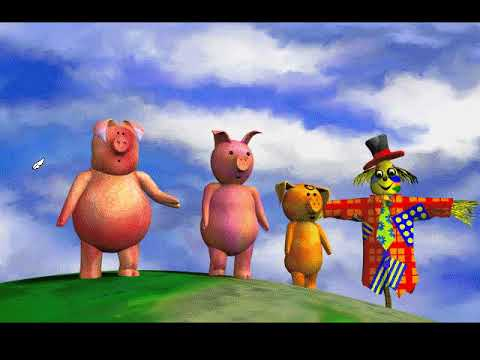 The Three Little Pigs (PC Game) thumbnail