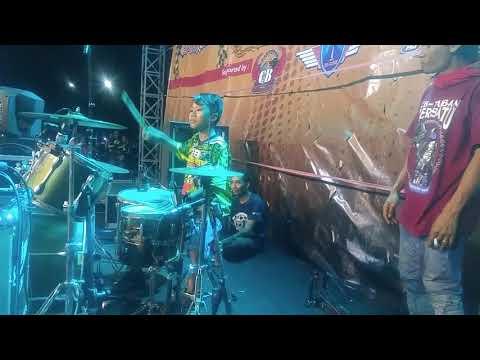 Pikir Keri ska Drum cam - Dekade CB Hot Surabaya drummer cilik begaafd band