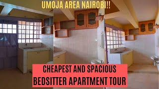 BEDSITTER apartment TOUR | small studio apartment tour 2020 (Cheapest and spacious)