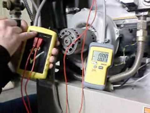 For A Ducane Furnace Wiring Diagram How To Test A Pressure Switch On A Gas Furnace Youtube