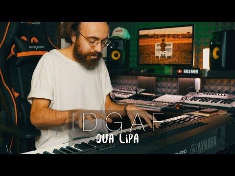 """IDGAF"" - Dua Lipa Piano Cover - Costantino Carrara"