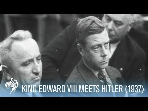 Former British King Visits Nazi Party