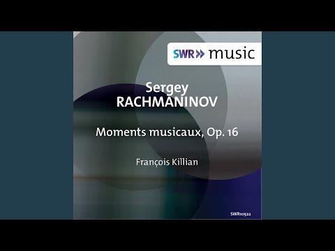 6 Moments Musicaux, Op. 16: No. 5 In D-Flat Major. Adagio Sostenuto