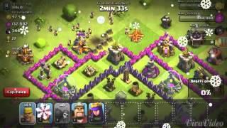 att clash of clans (barbare archers niv 5)