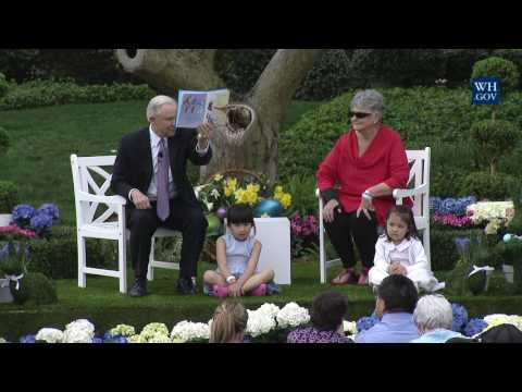 White House Easter Egg Roll: Reading Nook with Attorney General Jeff Sessions